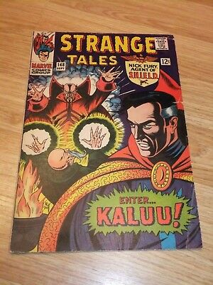 Marvel Comic Strange Tales Issue 148 September 1966 SHIELD Dr Strange
