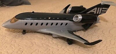 "Mattel Disney Pixar Cars 2 Siddeley the Spy Jet Transporter 16"" plane 1:55 scale"