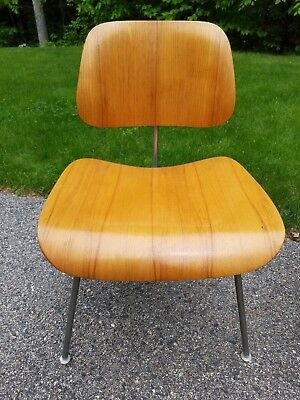 EAMES Herman Miller DCM Chair Molded Plywood Dining Mid Century Modern MCM Teak