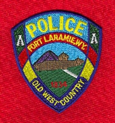 Law Enforcement Patch--Fort Laramie Wyoming--New*