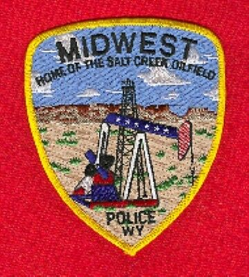 Law Enforcement Patch--Midwest Wyoming--New*