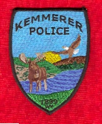 Law Enforcement Patch--Kemmerer Wyoming--New*