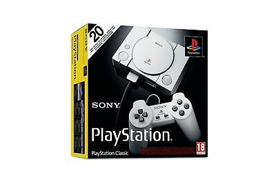 Sony PS1 PlayStation Classic Mini Consle + 2 Controllers *NEW* FREE UK P&P