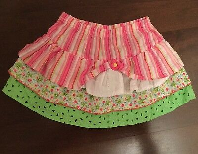 Girls Layered Skirt, Age 18 Months