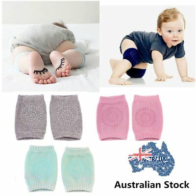 2 x Baby Infant Toddler Crawling Knee Pads Safety Cushion Protector Leg WarmerL5