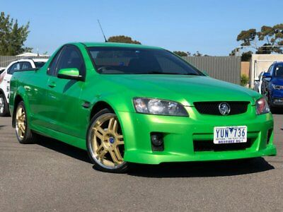 2008 Holden Ute VE SV6 Green Automatic 5sp A Utility
