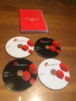 Fluenz Italian Version 4 + 5 version 2.9 for Windows XP/Vista/7 / Mac OS X