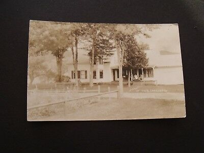 VTG RPPC Home of Pres. Coolidge, Plymouth, VT.