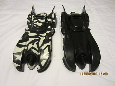 Kenner Batman Returns Dark Knight Batmobile & Camo Attack Batmobile complete