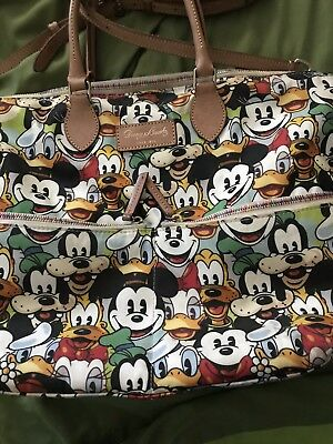 Disney Dooney & Bourke Mickey And Friends Faces Fab 5