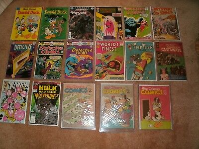 Dell, Dc And Marvel Comic Lot- 33 Books-Many Nice Grades With Bonus