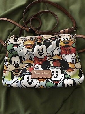 Dooney and Bourke Mickey and Friends Faces
