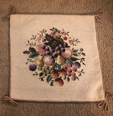 "NWT Needlepoint 14x14"" Throw Toss  Pillow Covers"