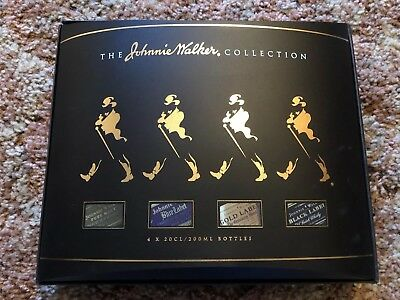 The Johnnie Walker Collection - 4 X 20CL/200ML Bottles