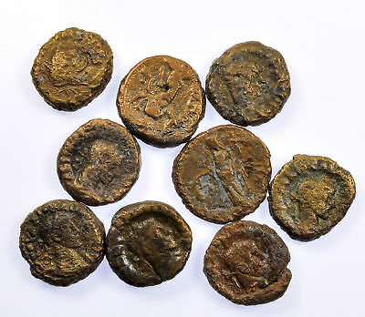 Group of 9 Ancient Roman Alexandrian Bronze Coins (41)