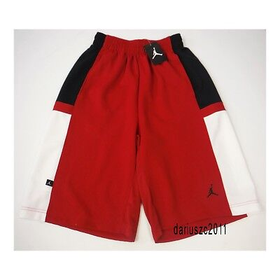 771a95b82714 Men s Size Small Nike Jordan Basketball Shorts Bankroll Red black 638145