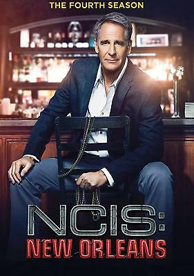 NCIS: New Orleans: The Fourth Season 4 (DVD, 2018, 6-Disc Set) NEW FREE SHIPPING