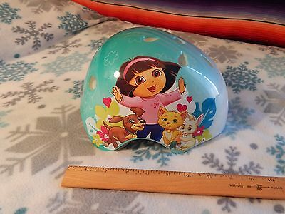 Nickelodeon's DORA THE EXPLORER - 2011 Dora Pets SAFETY HELMET (Adjust.) F. SHIP
