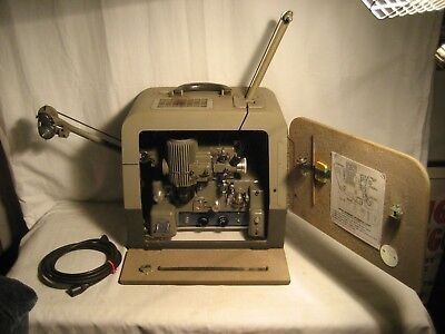 Vintage Bell & Howell Filmosound 202 16Mm Movie Projector Working