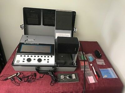 Fonix FP40 Hearing Aid Analyzer software 2.60E with accessories audiometer