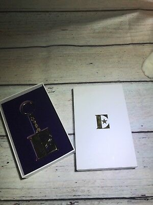 Elton John VIP Tour Gift Key Chain - Gold E with Star - In Box