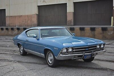 1969 Chevrolet Chevelle Malibu 1969 Chevelle Malibu Sport Coupe 1 Family Original Car With Docs