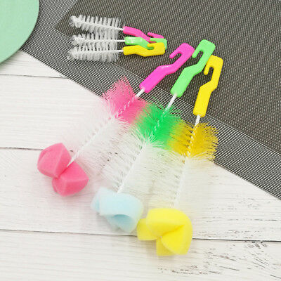 Baby Bottle Brush Cleaner Spout Cup Glass Teapot Washing Cleaning Tool Brush