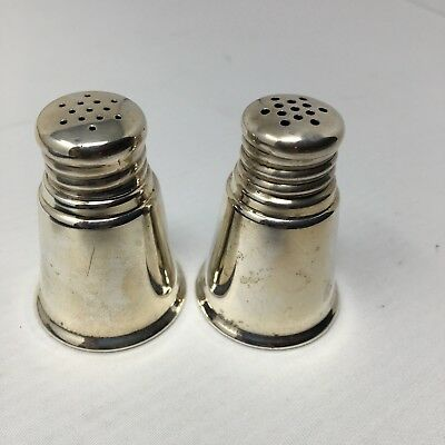Sterling Salt And Pepper Shakers