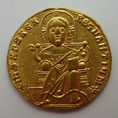 1913-1959 AD Constantine VII with Romanus I SOLIDUS Byzantine GOLD Ancient Coin