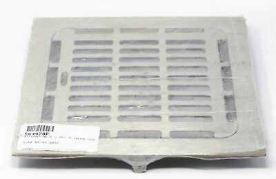"JOSAM 12"" Square Nikaloy 49320A-NB 564970P R/G Assembly Floor Sink Drain Top"