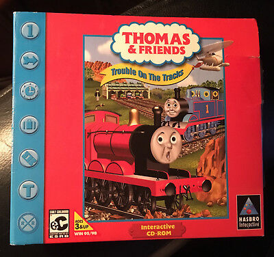 Thomas And Friends Trouble On The Tracks - Windows 95/98