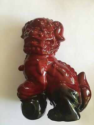 Royal Doulton Flambe Dog of Fo Figurine
