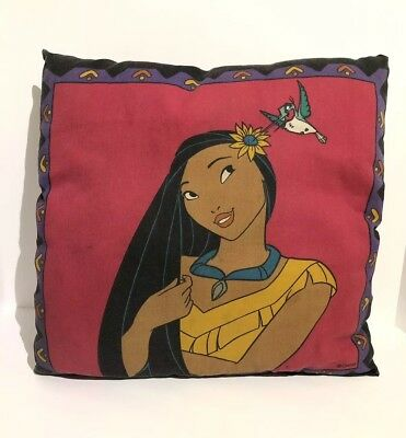 Vintage 1990s Disney Pocahontas & Mico Twin Fitted Sheet/ Pillowcase PILLOW ONLY