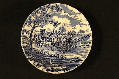 Myott Royal Mail Blue Staffordshire Ware Fruit Dessert Bowl