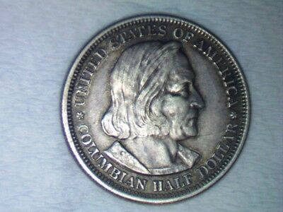 1893 World's Columbian Exposition Chicago Half Dollar