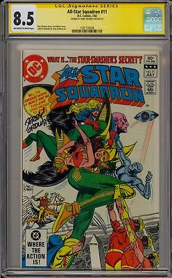 All-Star Squadron #11 - Signed By Jerry Ordway - Cgc 8.5 - 1591726006