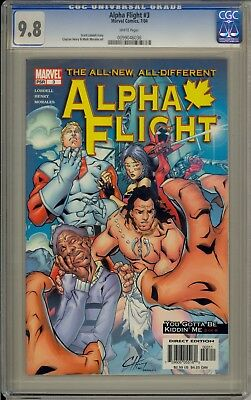 Alpha Flight #3 - Cgc 9.8 - 0099046036