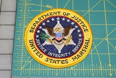 Department Of Justice United States Marshal Patch (1002)