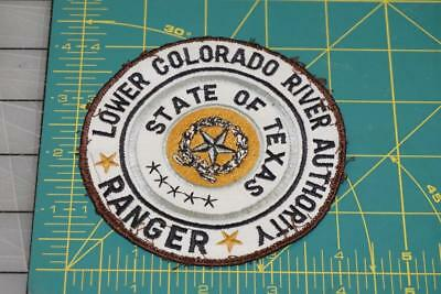Lower Colorado River Authority State Of Texas Ranger Patch (1008)