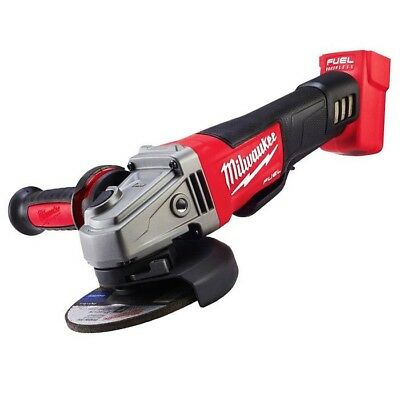 "Milwaukee M18CAG125XPD- 18V Li-Ion Cordless Fuel 125mm (5"") Angle Grinder - Skin"