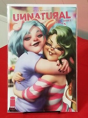 Unnatural #2 Artgerm Cover Mirka Andolfo Image Comics