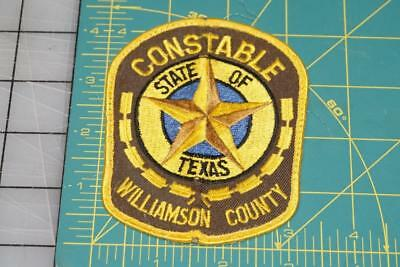 State Of Texas Constable Williamson County Patch (10019)