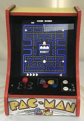 PACMAN,GALAGA UPRIGHT/COUNTER TOP  MACHINE! MS PACMAN, DONKEY KONG.NEW! 60 games