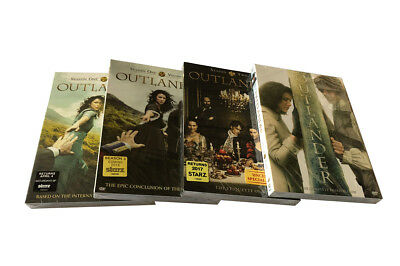 NEW Outlander: The Complete Series Seasons 1-4 DVD Box Set (14DVD)
