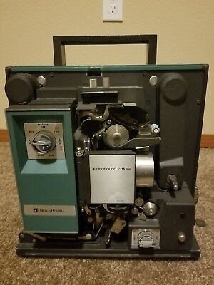 Bell And Howell 16mm Projector Model 1552b Working Condition