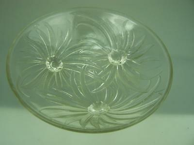 1930's French Art Deco Etling Anemones bowl signed Georges Beal