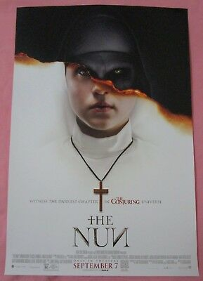 The Nun Movie Poster Fan Expo 2018 The Conjuring Horror Comic Con Annabelle
