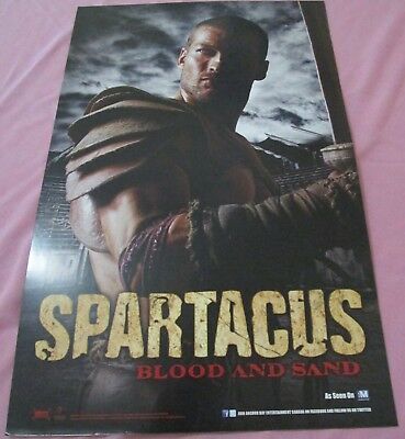Spartacus Gods of the Arena / Blood and Sand Promo Poster Fan Expo Comic Con
