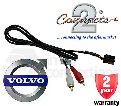 CT29VL01 Volvo Aux input interface adaptor lead cable for XC90 2004-2014 iPhone