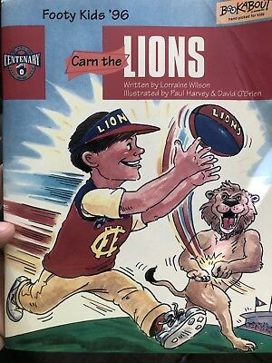 Fitzroy Lions Childrens Book